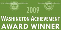 2009 Washington Achievement Award winner